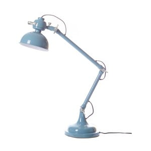 Modrá stolní lampa Look4Lamps Volcano
