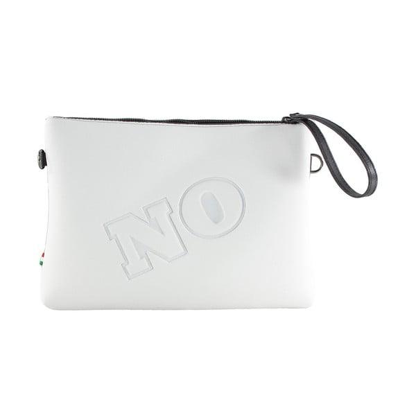 Neoprenové psaníčko Yes/No, bílé