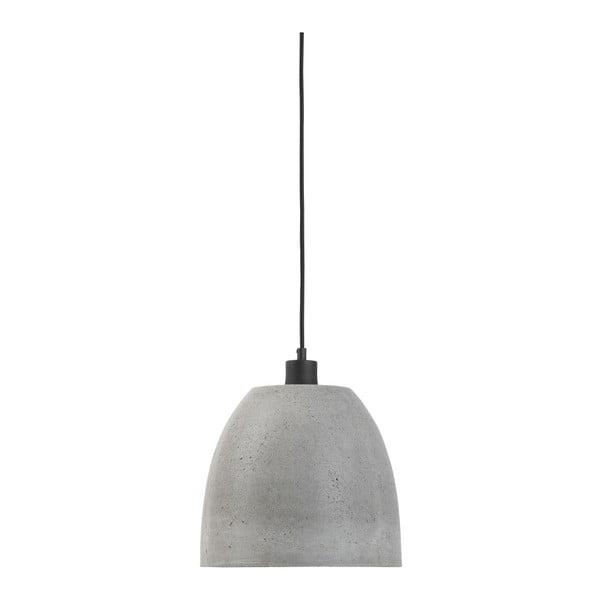 Závěsné betonové svítidlo Citylights Malaga, ⌀28cm