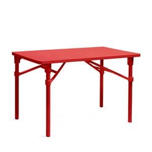 Skládací stůl Zic Rosso, červená