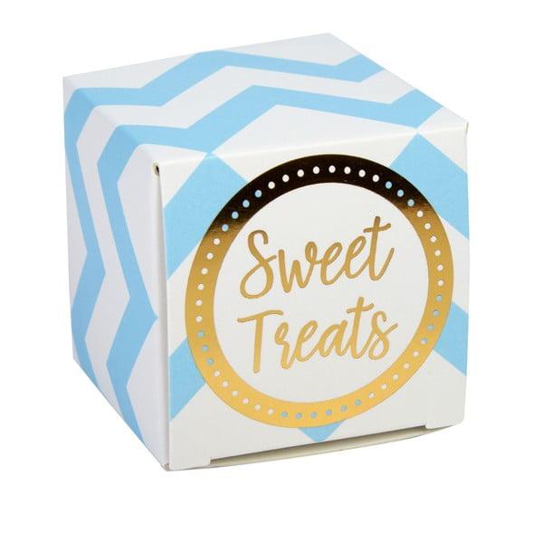 Set 10 cutii pentru dulciuri Neviti Pattern Works, albastru
