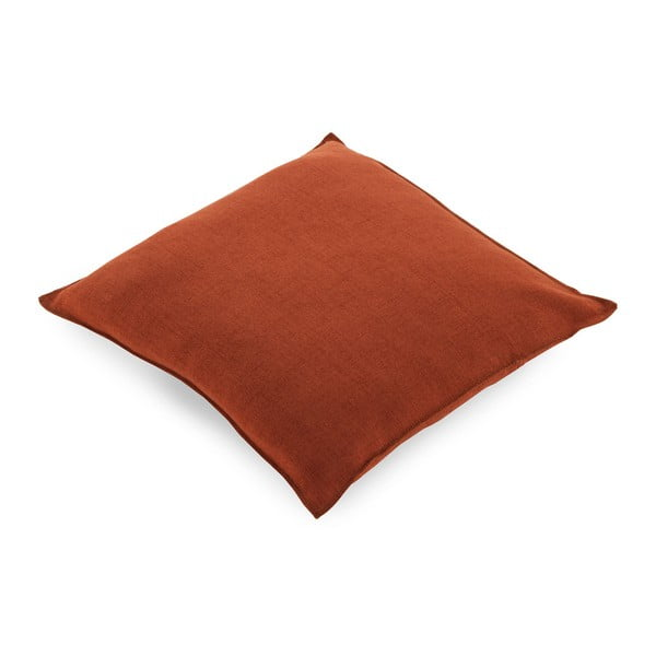 Czerwona poduszka z wypełnieniem Geese Miami, 45x45 cm