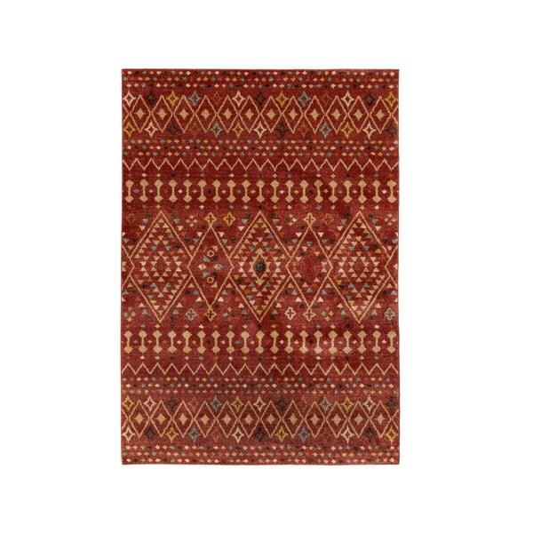 Czerwony dywan Flair Rugs Odine, 120x170 cm