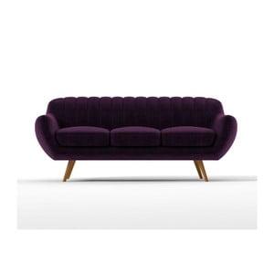 Sofa Azure pro tři, fialové