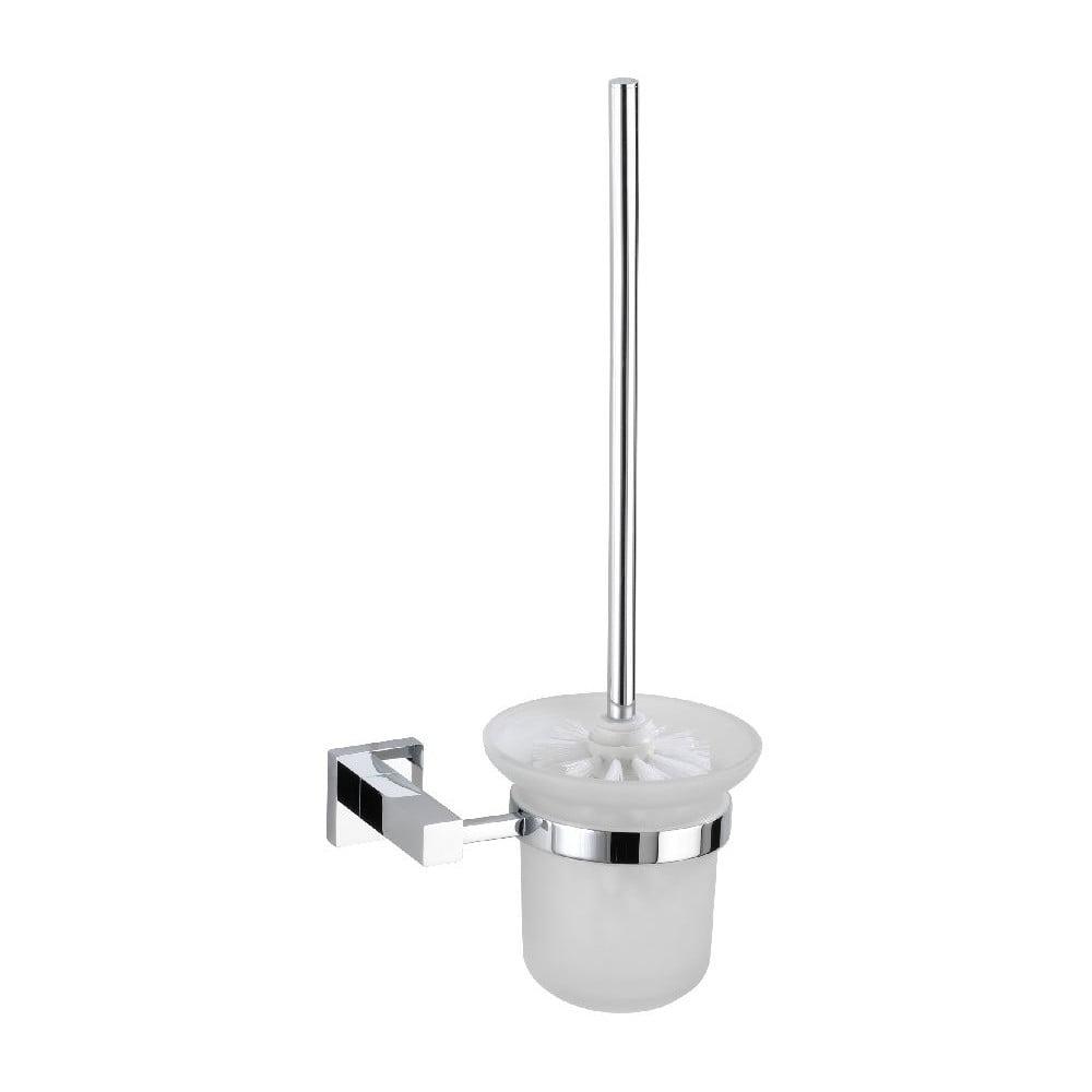 Samodržící stojan s toaletním kartáčem Wenko Power-Loc Remo