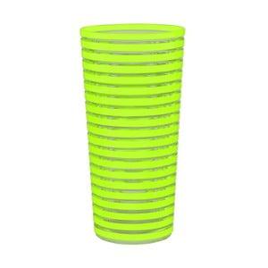 Sklenice Swirl 600 ml, zelená