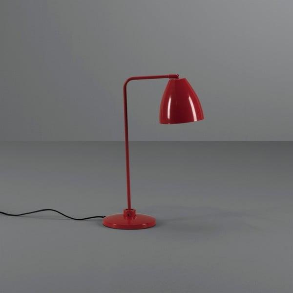 Červená stolní lampa Design Twist Cervasca