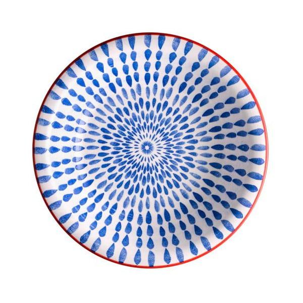 Farfurie pentru supă Brandani Ginger, ⌀ 21 cm, albastru