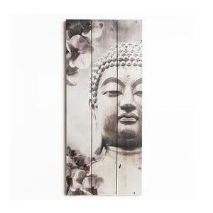 Tablou lemn Graham & Brown Buddha, 30 x 70 cm