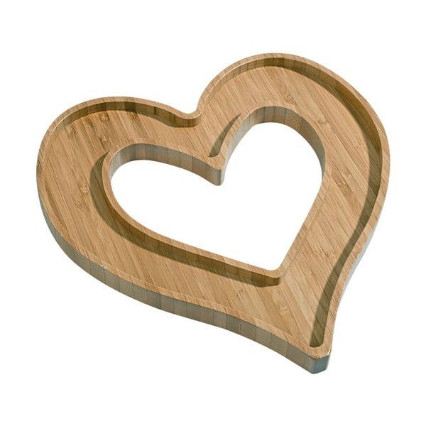 Półmisek bambusowy Kutahya Heart
