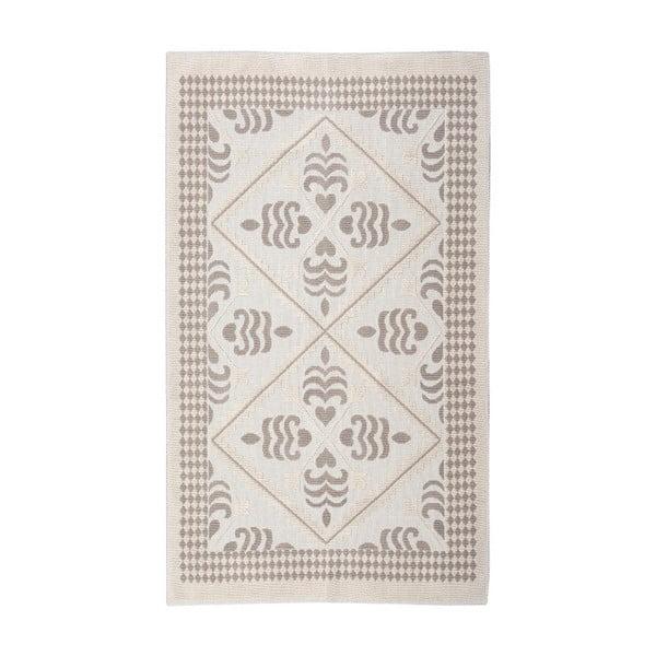 Krémový bavlněný koberec Floorist Flair, 100x200cm