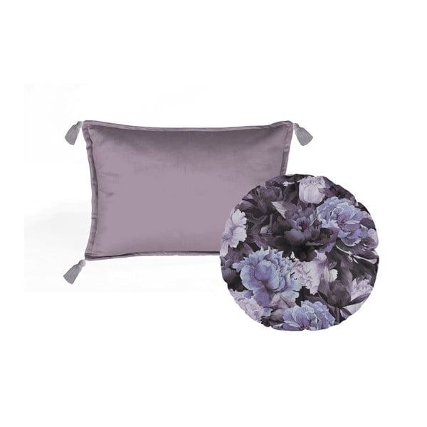Set 2 perne decorative Velvet Atelier Violettino, 45 x 45 cm