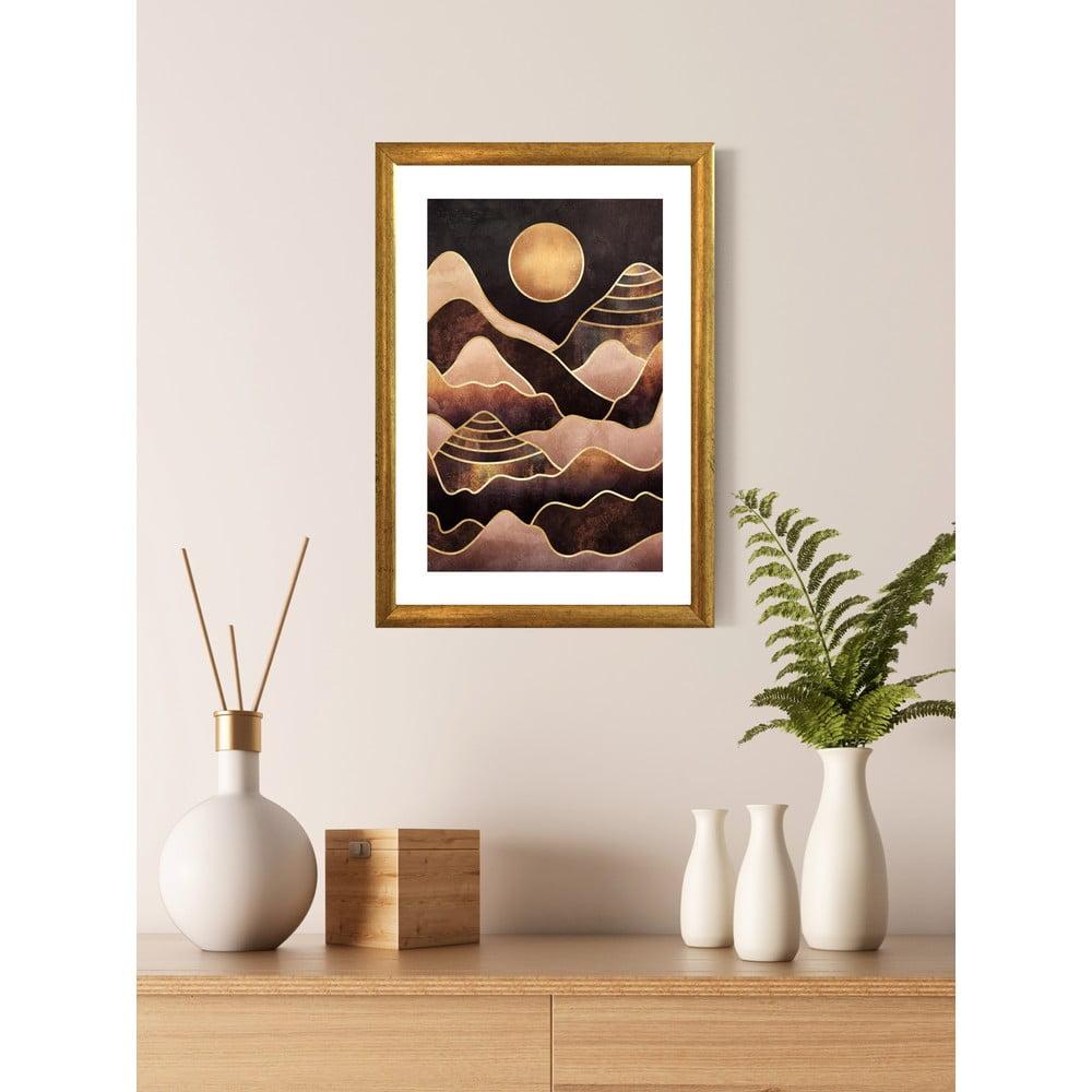 Nástěnný obraz v rámu Piacenza Art Mountains, 23 x 33 cm