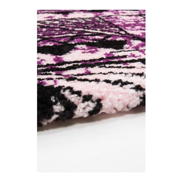 Koberec Aztec 491 purple/fuchsia, 160x230 cm