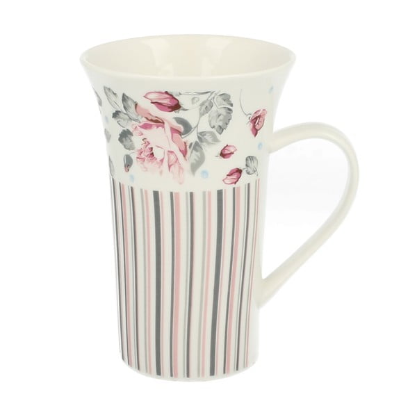 Porcelánový hrnek Duo Gift Růžička, 510 ml