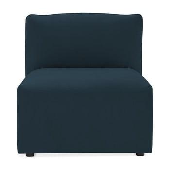 Modul de mijloc pentru canapea Vivonita Velvet Cube, bleumarin de la Vivonita
