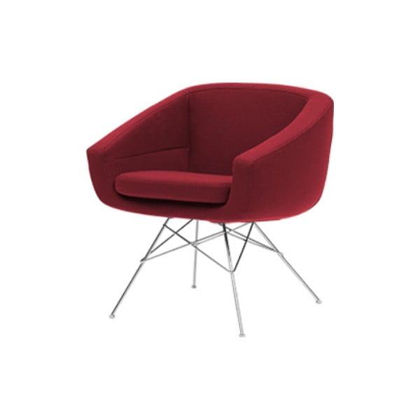 Aiko Felt Red sötétpiros fotel - Softline