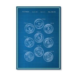 Plakát Keg Top, 30x42 cm