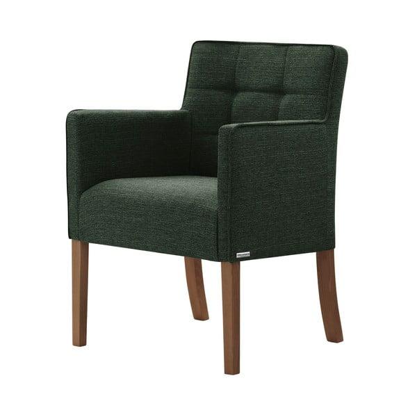 Freesia zöld bükk szék, sötétbarna lábakkal - Ted Lapidus Maison