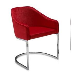 Červená jídelní židle Ángel Cerdá Juanita