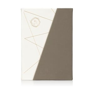 Šedo-bílý zápisník NPW WLLT