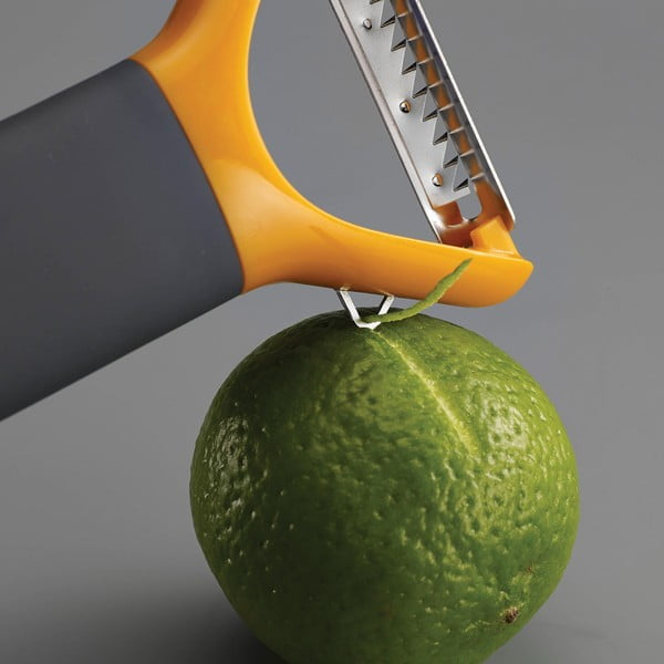 Škrabka Multi-peel Julienne, oranžová