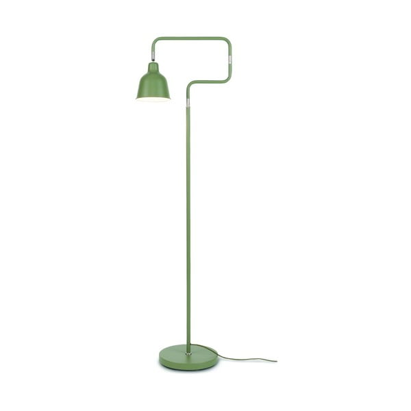 Zelenošedá volně stojící lampa Citylights London