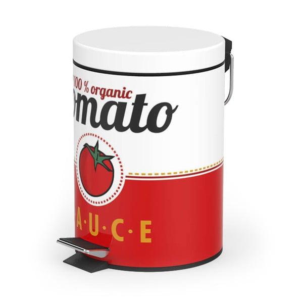 Pedálový odpadkový koš Tomato Sauce, 20 l