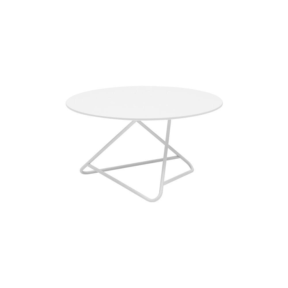 Bílý stůl Softline Tribeca, 75 cm