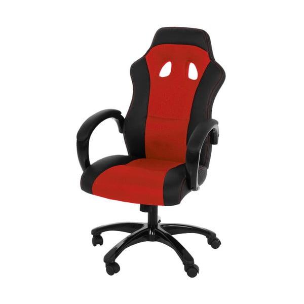 Czerwony fotel biurowy Actona Race