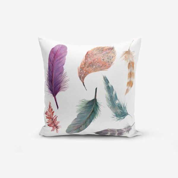 Povlak na polštář s příměsí bavlny Minimalist Cushion Covers Cozy, 45 x 45 cm
