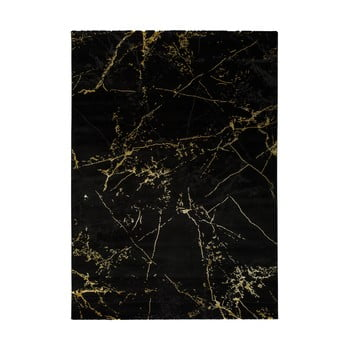 Covor Universal Gold Marble, 80 x 150 cm, negru