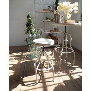 Barová židle Vintage White