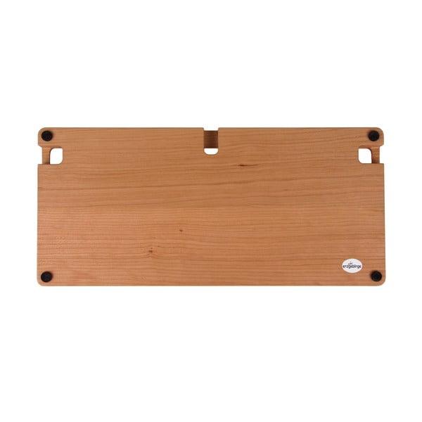 Dřevěný obal na klávesnici, třešeň