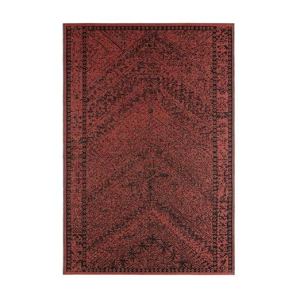 Covor potrivit pentru exterior Bougari Mardin, 70 x 140 cm, roșu închis