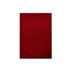 Ručně tkaný koberec Zen, 70x140 cm, červený
