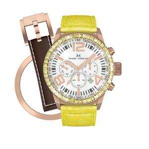 Dámské hodinky Marc Coblen s páskem a kroužkem navíc P57