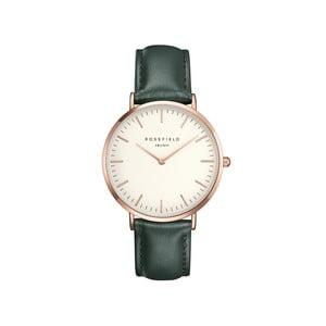 Bílozelené dámské hodinky Rosefield The Bowery