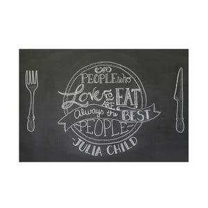Univerzální tabulová samolepka Blackboard + 5 kříd, 45x200 cm