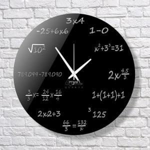 Nástěnné hodiny Maths Clock