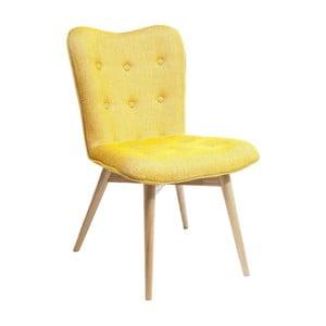 Žlutá jídelní židle Kare Design Angel Wings