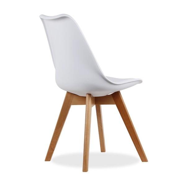 Židle Beech Tulipa Blanc