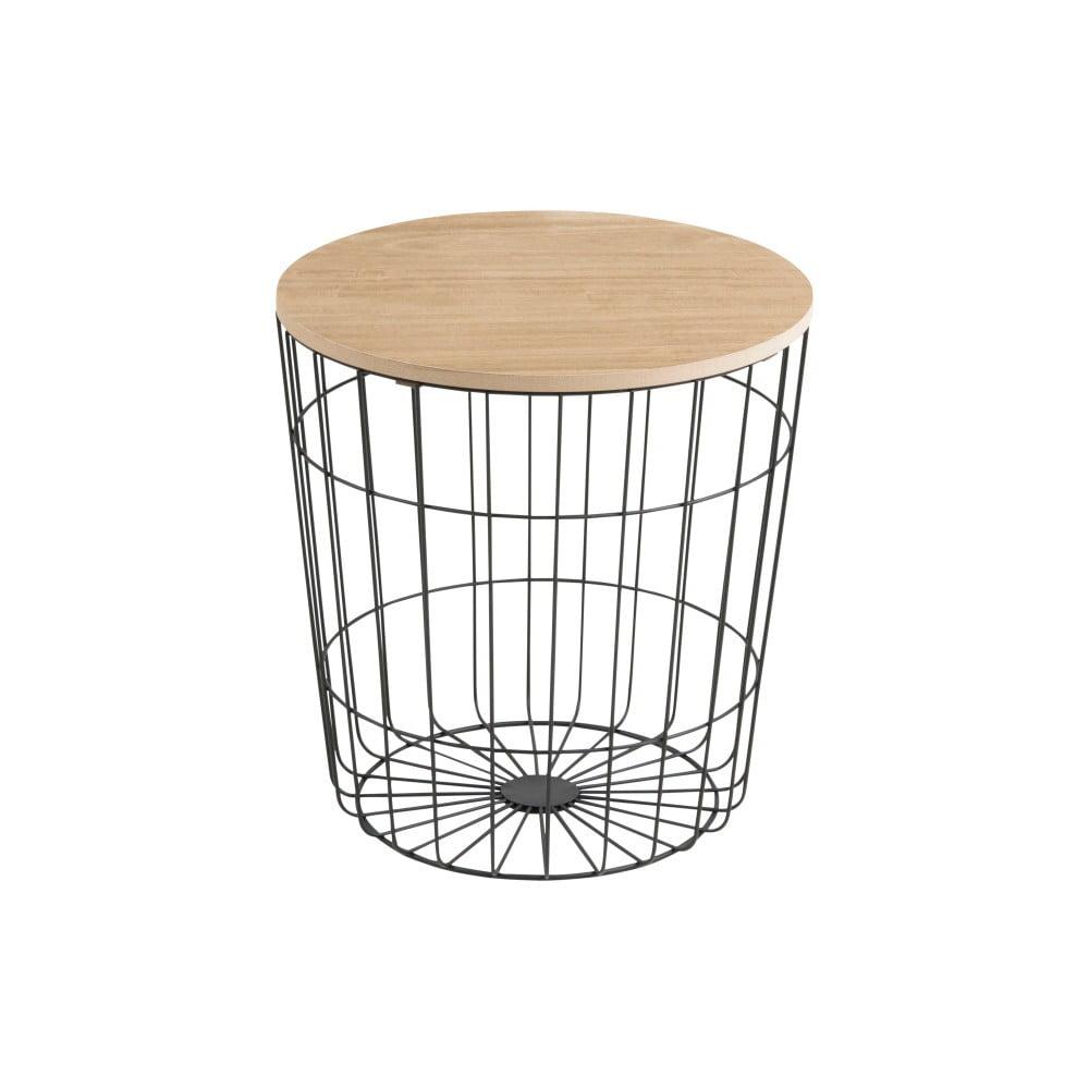 Produktové foto Odkládací stolek Actona Lotus Darko, Ø 39 cm