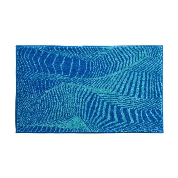 Koupelnová předložka Kolor My World XIII 60x100 cm, tyrkysová