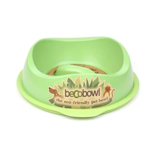 Psí/kočičí miska Beco Bowl 28,5 cm, zelená