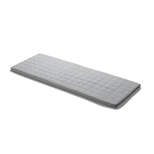 Sivý hrací matrac Flexa Room, 60 x 140 cm