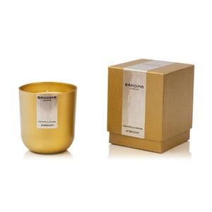 Svíčka s vůní pomeranče a zázvoru Bahoma Luxurious, 75hodinhoření