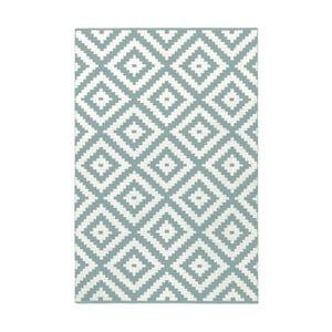 Světle modro-šedý oboustranný koberec vhodný i do exteriéru Green Decore Ava Malo, 120 x 180 cm