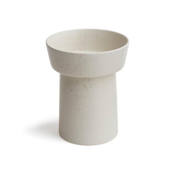 Ombria fehér agyagkerámia váza, magasság 20 cm - Kähler Design