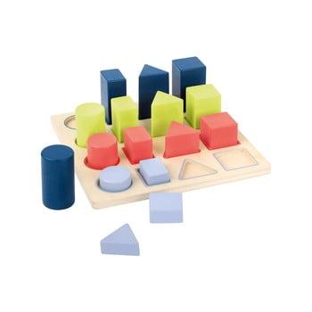 Jucărie din lemn pentru copii Legled Geometry imagine